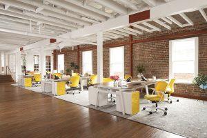 Xu hướng thiết kế văn phòng mới và hiện đại
