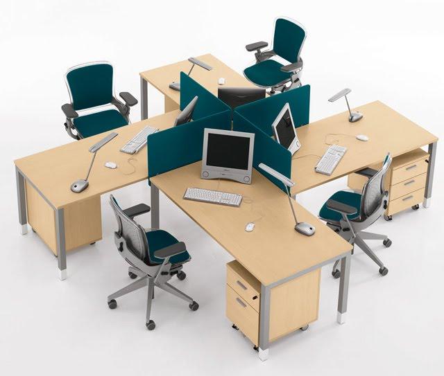 Những mẫu bàn văn phòng giá rẻ Hà Nội đẹp xuất sắc - 2