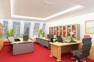 Bí quyết chọn thảm trải sàn cho văn phòng làm việc
