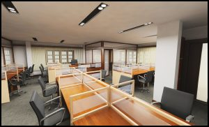 Thiết kế văn phòng luật theo phong cách hiện đại