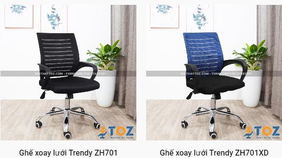Mua ghế văn phòng giá rẻ ở Hà Nội