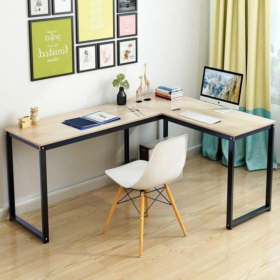 Bắt kịp xu hướng thiết kế nội thất với mẫu bàn làm việc nhỏ đẹp Phát Phát