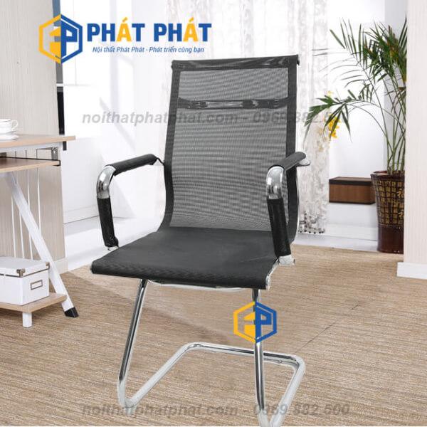 Thiết kế hiện đại của ghế lưới chân quỳ tô điểm cho không gian làm việc