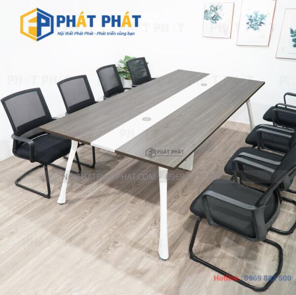 Lý do bàn họp chân sắt phù hợp với văn phòng hiện đại