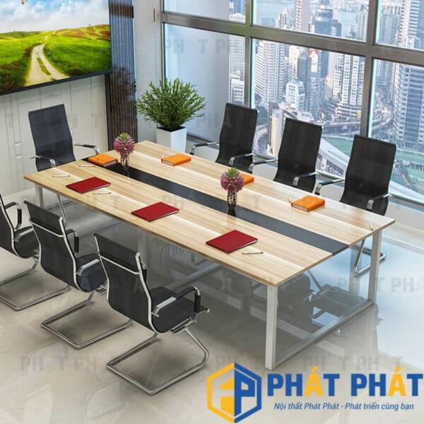 Lý do bàn họp chân sắt phù hợp với văn phòng hiện đại  - 1