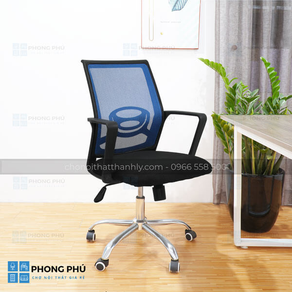 Những ưu điểm cần biết khi sử dụng ghế lưới nhân viên