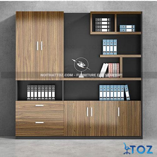 Tủ tài liệu gỗ TOZ dẫn đầu xu hướng nội thất hiện đại